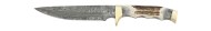 Frost Whitetail Damast Bowie 17 cm
