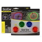 Nite Ize See'Em mini spoke lights rd/gr/bl